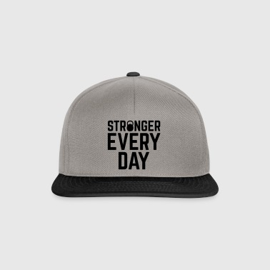 Stronger Every Day Gym Qute - Snapback Cap