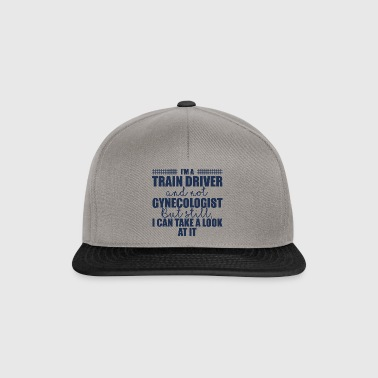 Train driver, train conductor, railway, subway, ICE, train - Snapback Cap
