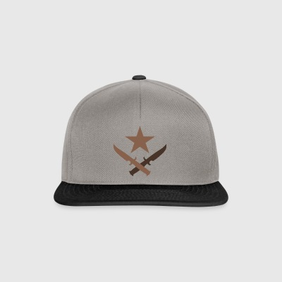 T Logo - Cs: go artwork - Snapback Cap