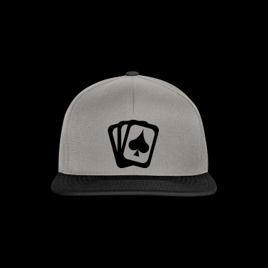 Card game spades sheet - Snapback Cap