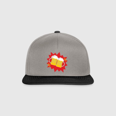 Beer beer glasses - Snapback Cap