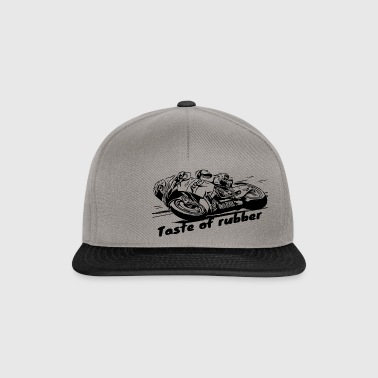 Taste of rubber 2 black - Snapback Cap