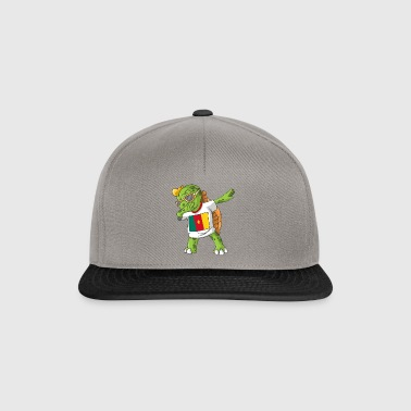 Cameroun tortue tamponnant - Casquette snapback