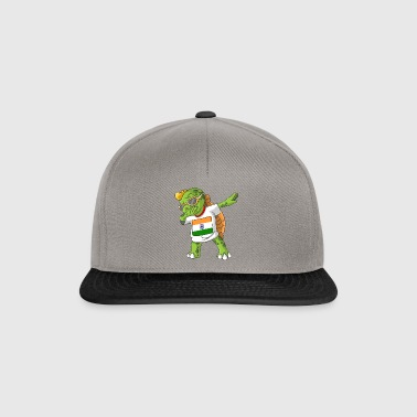 Inde tortue tamponnant - Casquette snapback