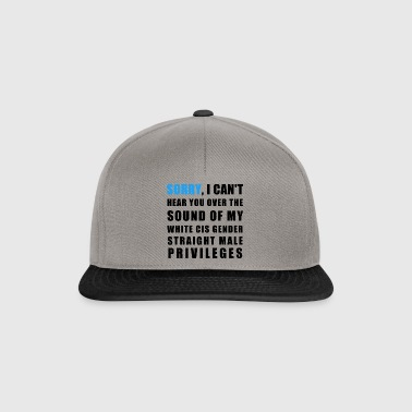 privileges - Snapback Cap
