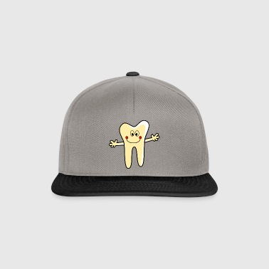 Dental office logo tooth - Snapback Cap