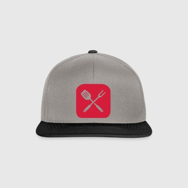 Grill Besteck Icon - Snapback Cap