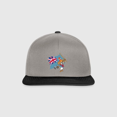 Fiji fan dog - Snapback Cap