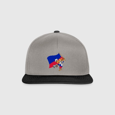 Haiti fan dog - Snapback Cap