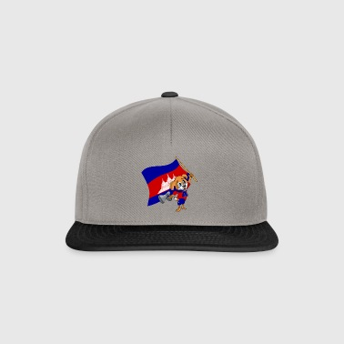 Cambodia fan dog - Snapback Cap