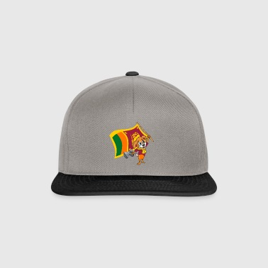 Sri Lanka fan dog - Snapback Cap