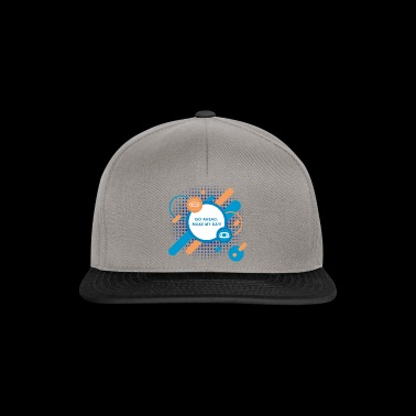 Go ahead make my day - Snapback Cap