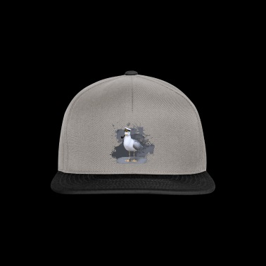 The cool seagull opi - Snapback Cap