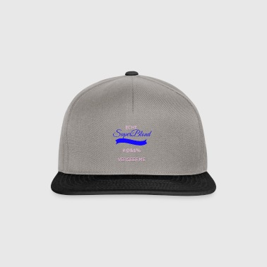 super blonde transparent - Snapback Cap