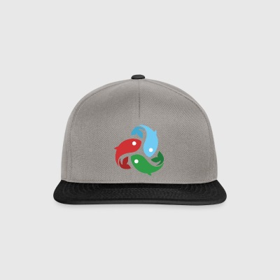 They fished fish - Snapback Cap