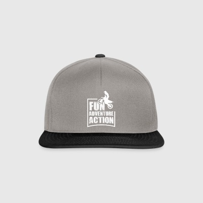Enduro FUN ADVENTURE ACTION - Casquette snapback