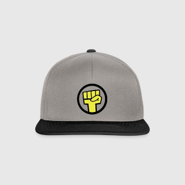 INSOLENT revolt and raise your fist in the air! - Snapback Cap