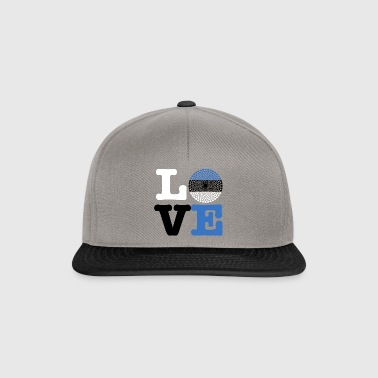 ESTONIA HEART - Snapback Cap