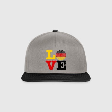 COEUR ALLEMAGNE - Casquette snapback