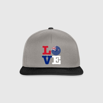 NEW ZEALAND HEART - Snapback Cap