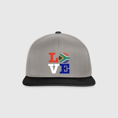 SOUTH AFRICA HEART - Snapback Cap