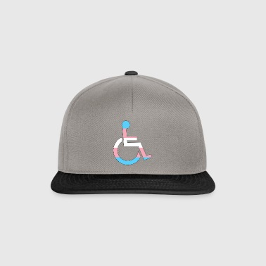 Disabled Trans Pride - Snapback Cap