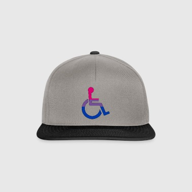 Disabled Bi Pride - Snapback Cap