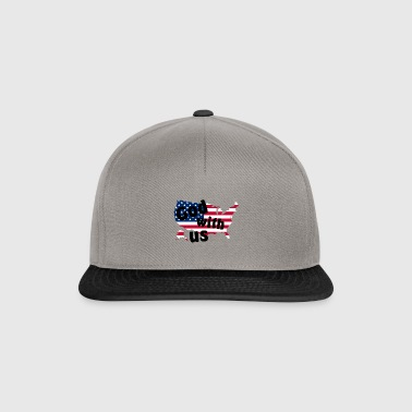 God with us - Snapback Cap