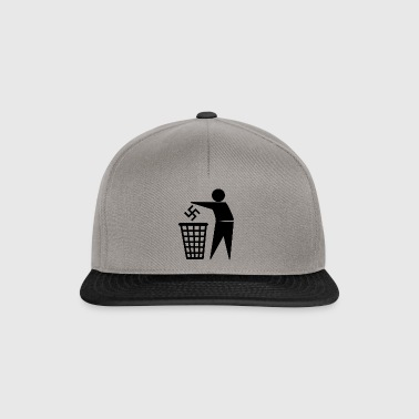 Nazis in the bin - Snapback Cap