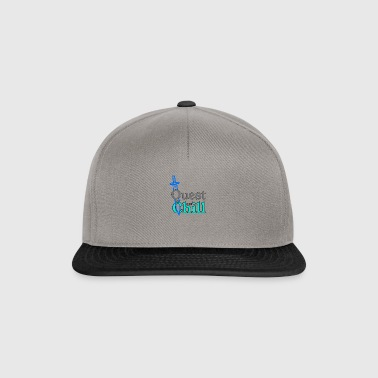 Quest and Chill - Snapback Cap
