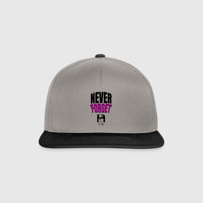 Never Forget - Snapback Cap
