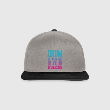 DRUM AND BASS - Snapback Cap