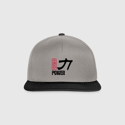 Chinese Words: Force - Snapback Cap
