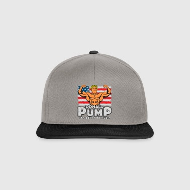 Donald Pump Color - Snapback Cap