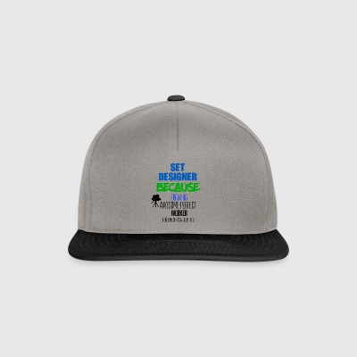 Set of designers - Snapback Cap