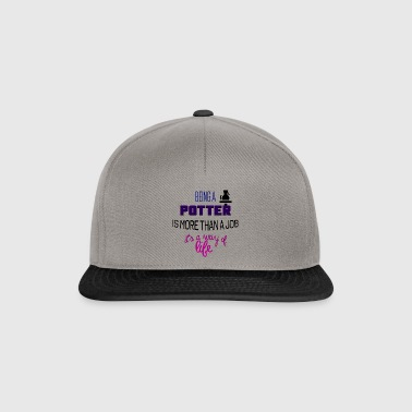 Being a potter - Snapback Cap