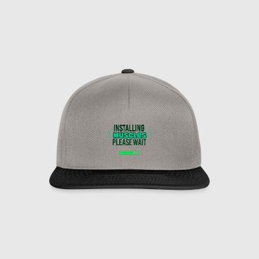 Les muscles Installation - Casquette snapback