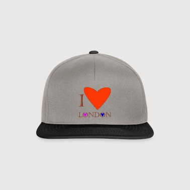 I Love London 1C - Snapback Cap