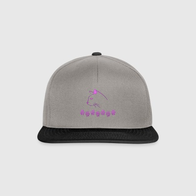 Cat Pink Lady - Snapback Cap