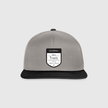 Ultra Trails mont blanc t shirt - Snapback Cap