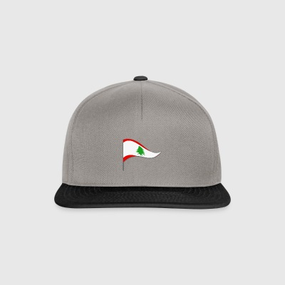 Lebanon Beirut Asia Flag Flag Country color Arab - Snapback Cap