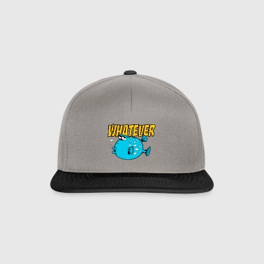 Whatever Fishi - Snapback Cap