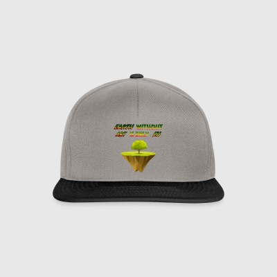 earth without ART Planet Nature Design Museum - Snapback Cap