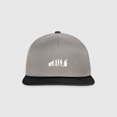 Double Bass Evolution instrument gift jazz - Snapback Cap