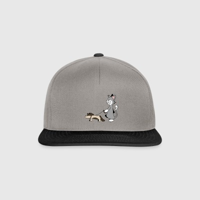 Dog Walking - Snapback Cap
