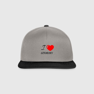 I love Germany | Inspiredbyme - Snapback Cap