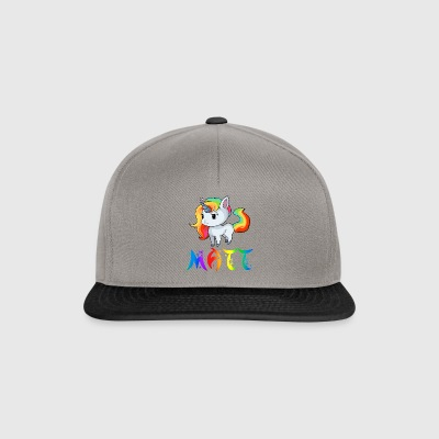 Unicorn Matt - Snapback Cap