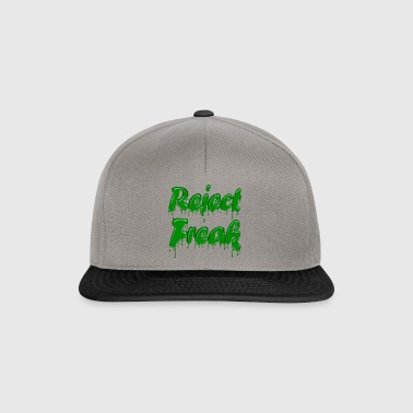 Green Gloop Reject Freak - Snapback Cap