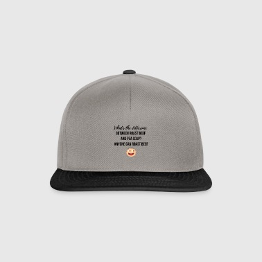 Roast beef and pea soup - Snapback Cap