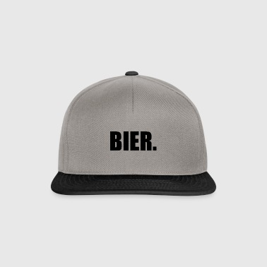 Bier Party Feiern - Snapback Cap